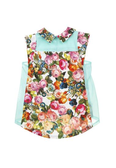 Блуза з коротким рукавом Kids Couture модель 30152601 — фото 2 - INTERTOP