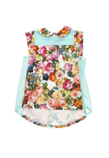 Блуза з коротким рукавом Kids Couture модель 30152601 — фото - INTERTOP