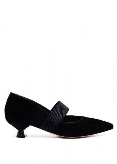 женские 307401 Черные замшевые туфли Modus Vivendi 307401 продажа, 2017