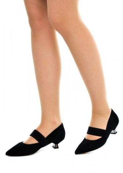 женские 307401 Черные замшевые туфли Modus Vivendi 307401 размерная сетка обуви, 2017