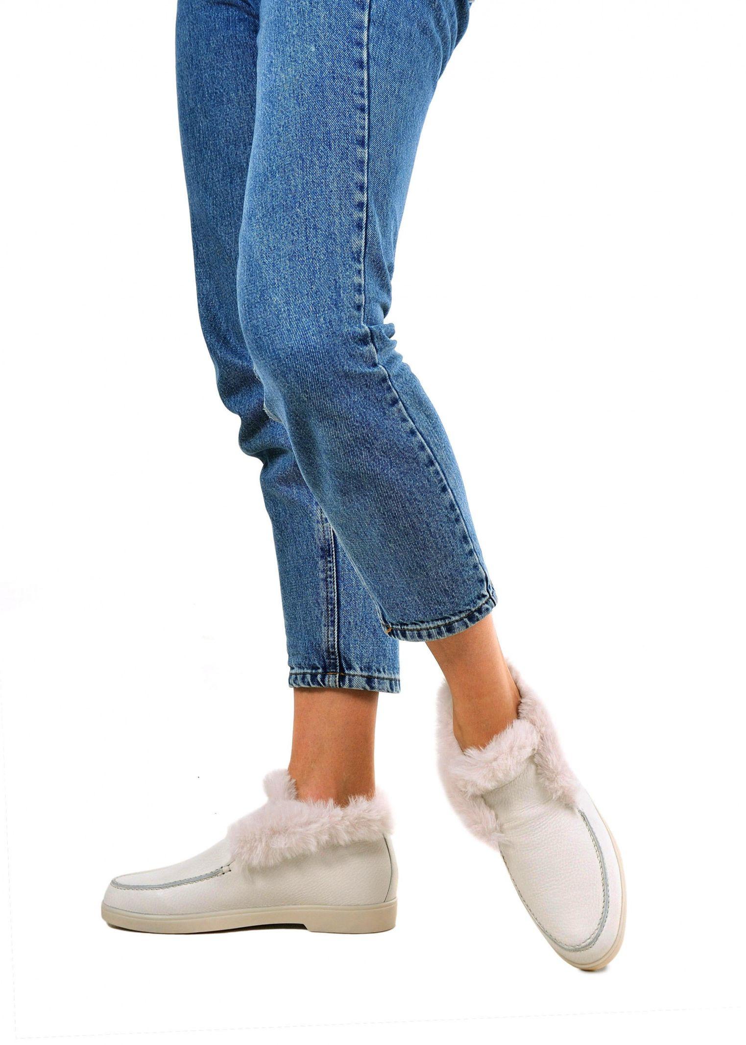 """Черевики  для жінок 329901 Кожаные зимние """"бабуши"""" Modus Vivendi 329901 розмірна сітка взуття, 2017"""