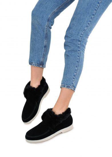 Черевики  жіночі 329931 Замшевые черные ботинки на меху Modus Vivendi 329931 модні, 2017