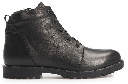 Ботинки женские Ботинки 3353-030 черная кожа. Хутро 3353-030 цена, 2017