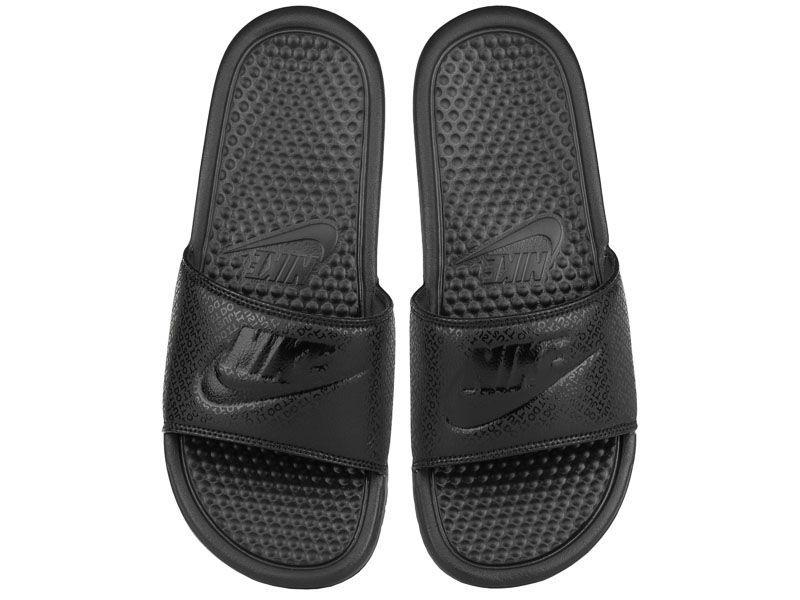 """Тапки для мужчин Nike Benassi """"Just Do It."""" Black Black 343880-001 купить онлайн, 2017"""
