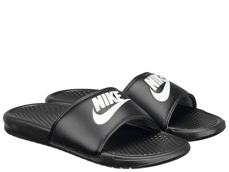 Тапки для мужчин NIKE BENASSI JDI Black 343880-090 модная обувь, 2017
