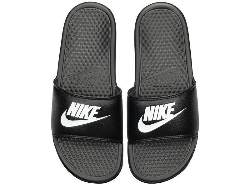 Тапки для мужчин NIKE BENASSI JDI Black 343880-090 цена обуви, 2017