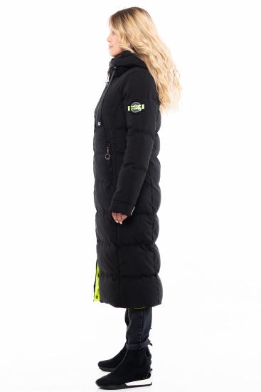 Пальто пухове Milhan модель 3578 — фото 6 - INTERTOP