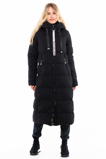 Пальто пухове Milhan модель 3578 — фото - INTERTOP