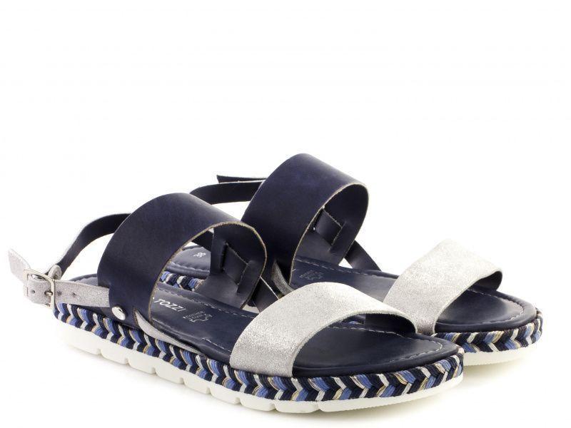 Сандалии для женщин Marco Tozzi 28139-28-890 navy comb модная обувь, 2017