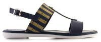 Сандалии для женщин Marco Tozzi 28132-28-890 navy comb брендовая обувь, 2017