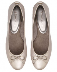 Балетки  жіночі Marco Tozzi 22122-22-957 PLATINUM брендове взуття, 2017