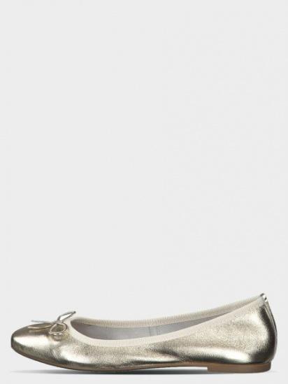 Балетки  жіночі Marco Tozzi 22122-22-957 PLATINUM модне взуття, 2017