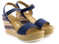 Босоножки для женщин Marco Tozzi 28360-28-802 denim цена обуви, 2017