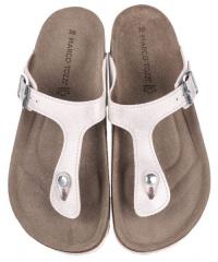 Сандалі  жіночі Marco Tozzi 2-2-27400-22-151 WHITE METALLI брендове взуття, 2017