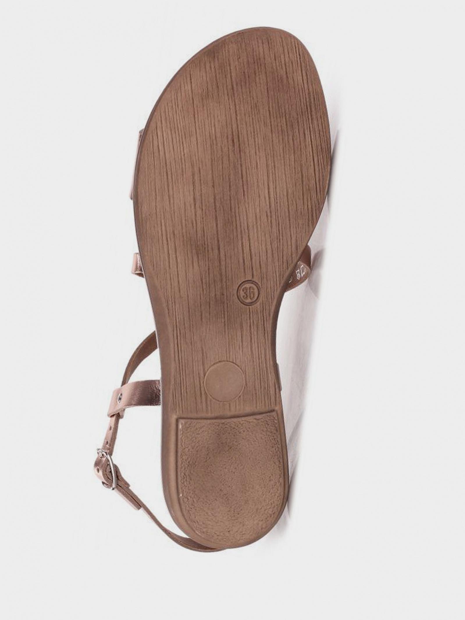 Сандалі  жіночі Marco Tozzi 28140-22-592 ROSE METALLIC 28140-22-592 ROSE METALLIC розмірна сітка взуття, 2017