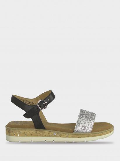 Сандалии для женщин Marco Tozzi 28632-22-098 BLACK COMB модная обувь, 2017
