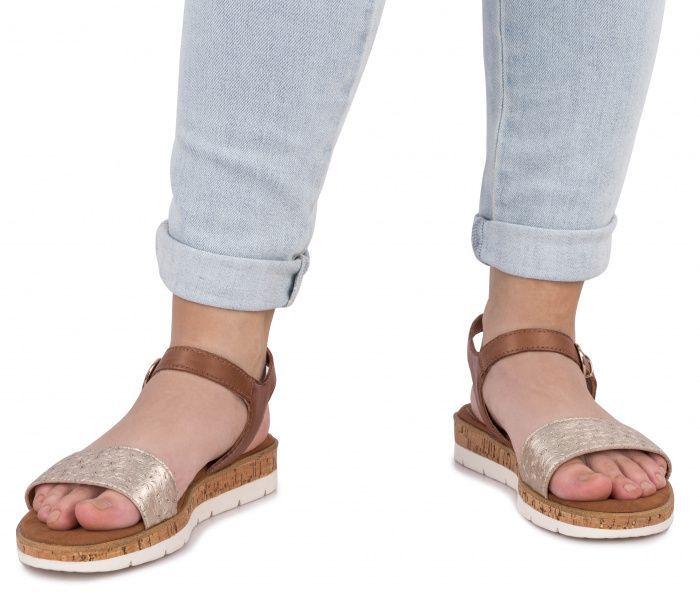 Сандалии для женщин Marco Tozzi 3H177 брендовая обувь, 2017
