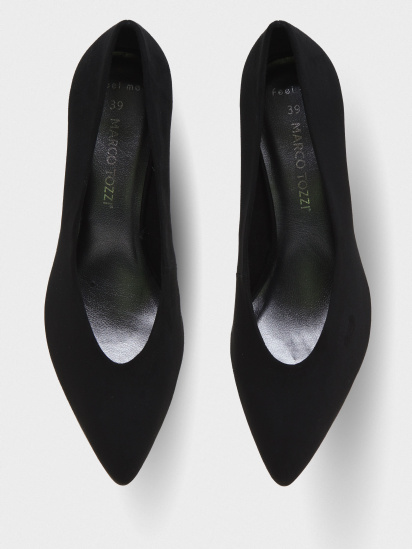 Туфлі Marco Tozzi модель 22416-34-001 BLACK — фото 4 - INTERTOP