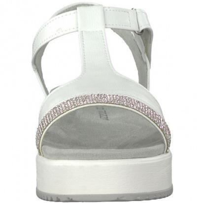 Босоніжки Marco Tozzi модель 28215-30-197 WHITE COMB — фото 2 - INTERTOP
