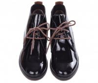 Черевики жіночі Marco Tozzi 25118-31-059 BLACK PAT.COMB - фото