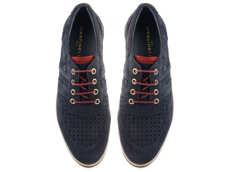Полуботинки для мужчин MARTINELLI 3J10 размерная сетка обуви, 2017
