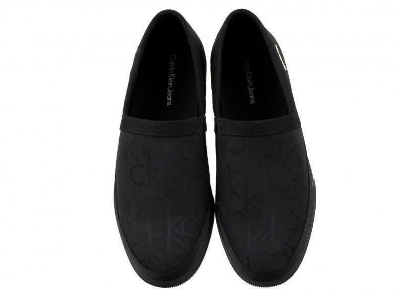 Cлипоны для мужчин Calvin Klein Jeans ULF CK LOGO JACQUARD 3M3 обувь бренда, 2017