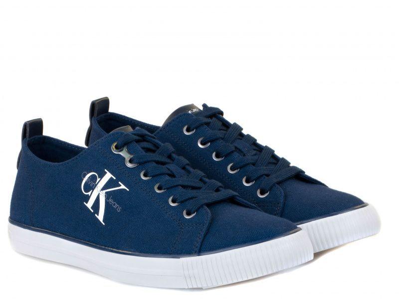 Купить Кеды мужские Calvin Klein Jeans ARNOLD CANVAS 3M6, Синий