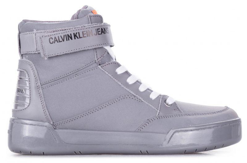 Купить Ботинки мужские Calvin Klein Jeans 3M70, Серебряный