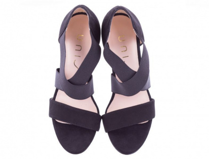Босоніжки  жіночі UNISA WANGE_KS BLACK брендове взуття, 2017