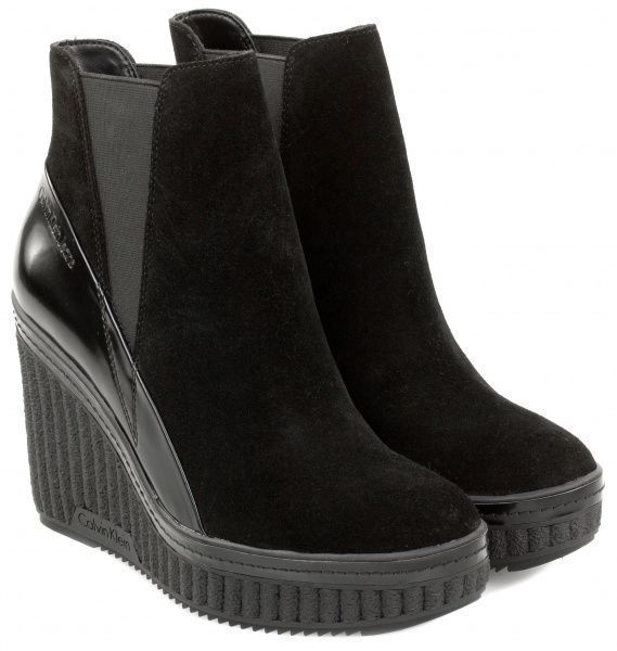 Купить Ботинки женские Calvin Klein Jeans 3Y23, Черный