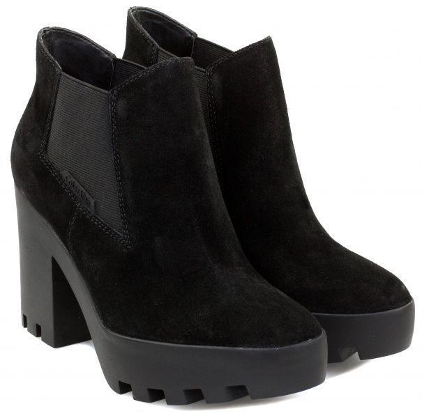 Купить Ботинки женские Calvin Klein Jeans 3Y27, Черный