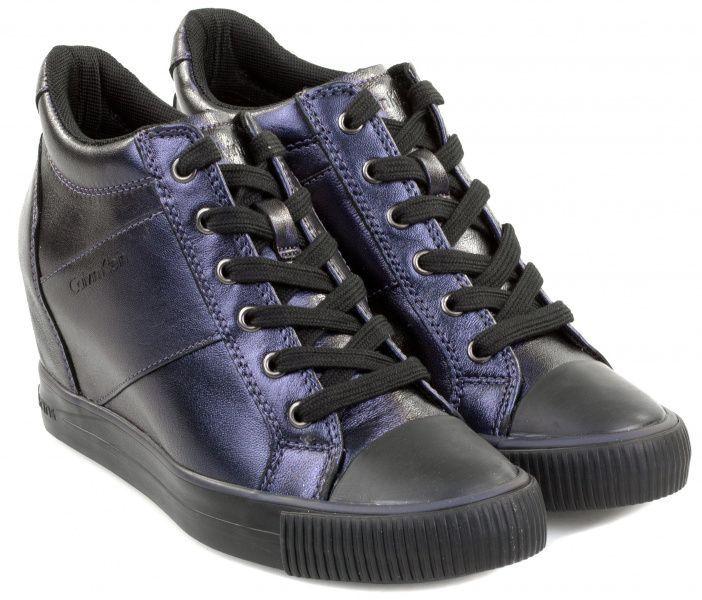 Купить Ботинки женские Calvin Klein Jeans 3Y31, Синий