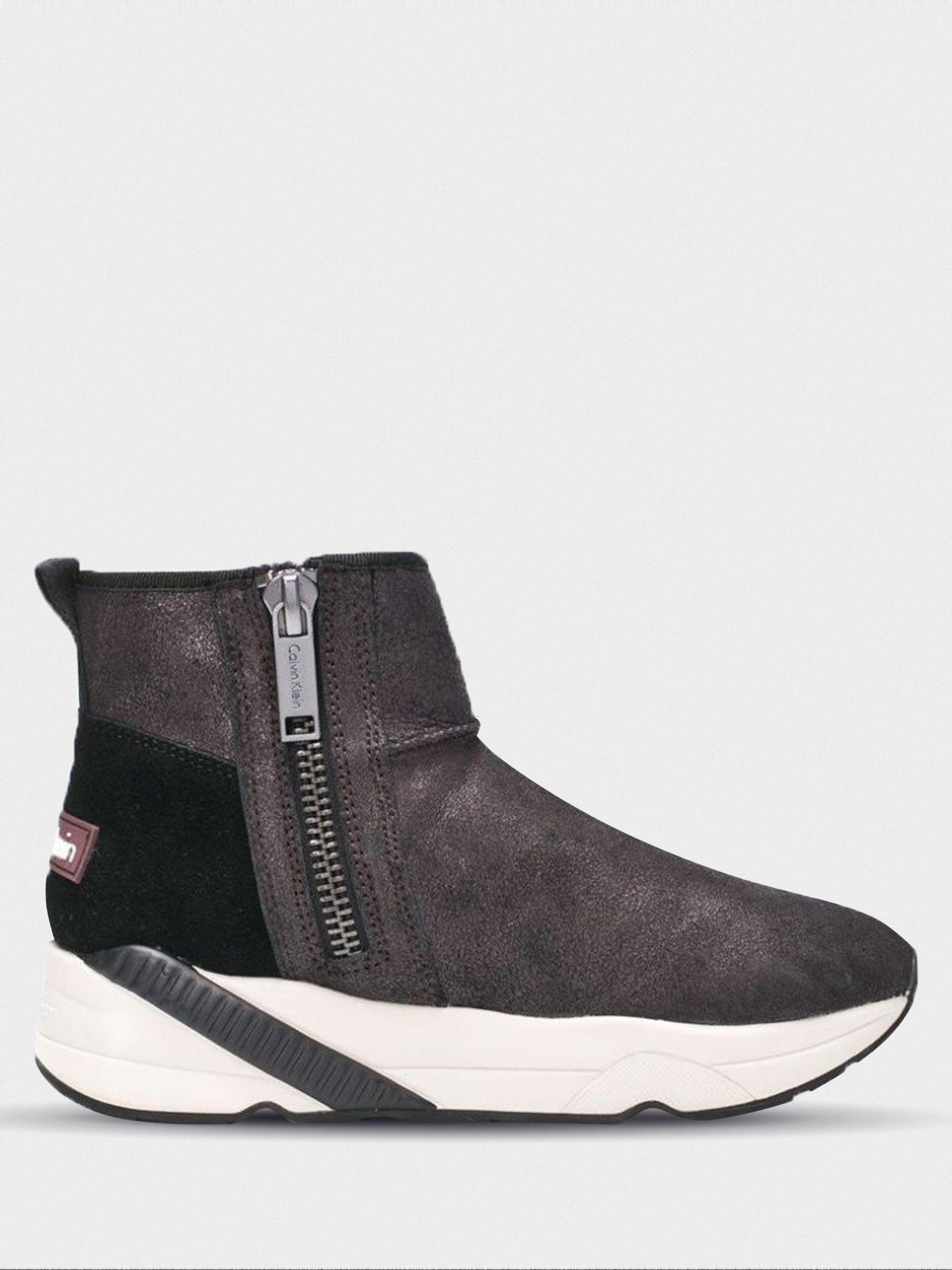 Купить Ботинки женские Calvin Klein Jeans 3Y32, Серебряный