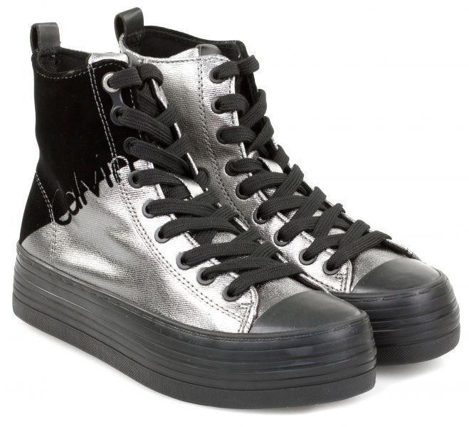 Купить Ботинки женские Calvin Klein Jeans 3Y35, Черный