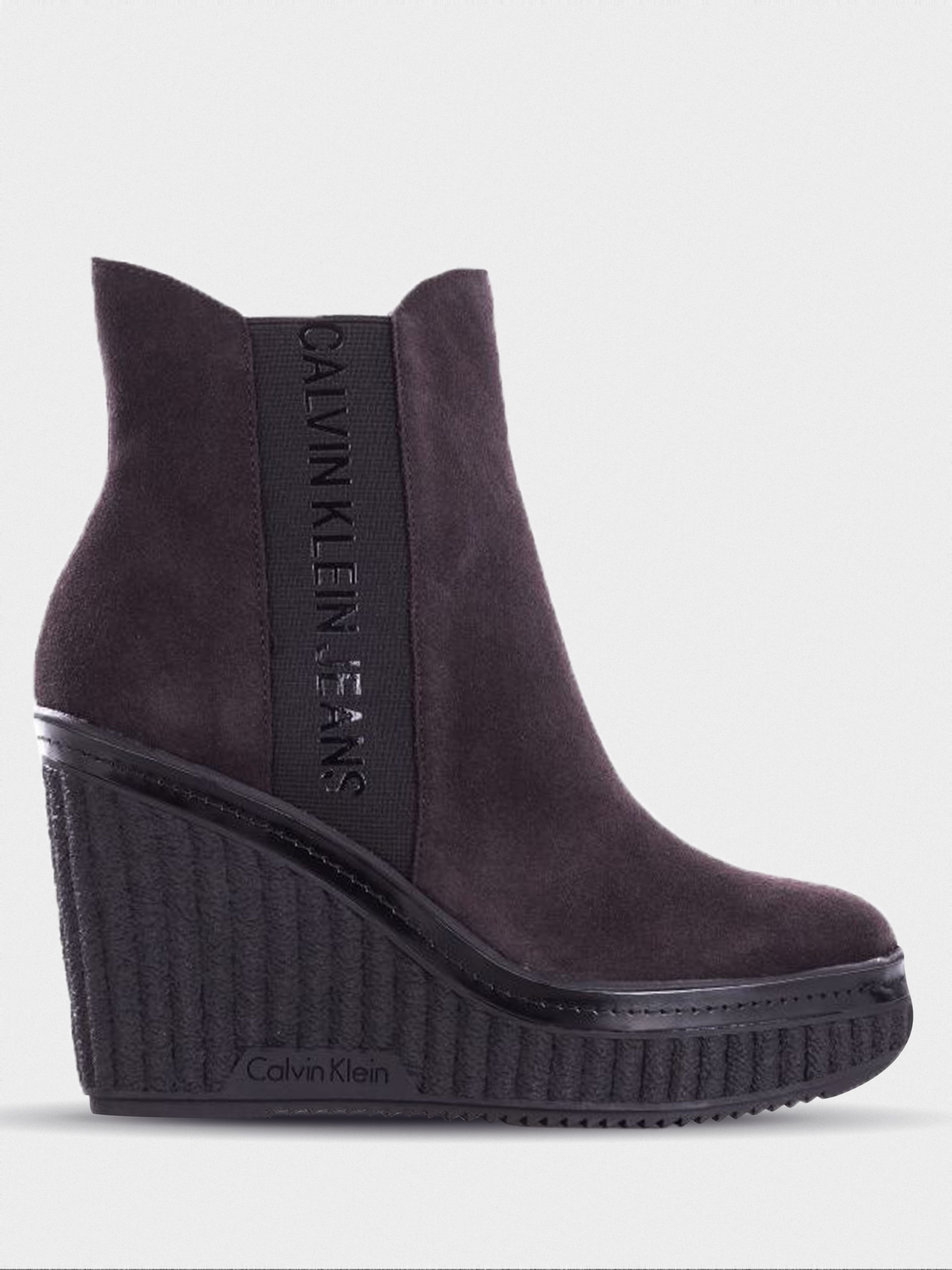 Купить Ботинки женские Calvin Klein Jeans 3Y73, Коричневый