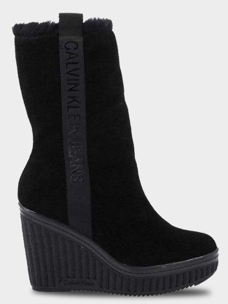 Сапоги для женщин Calvin Klein Jeans 3Y74 брендовая обувь, 2017