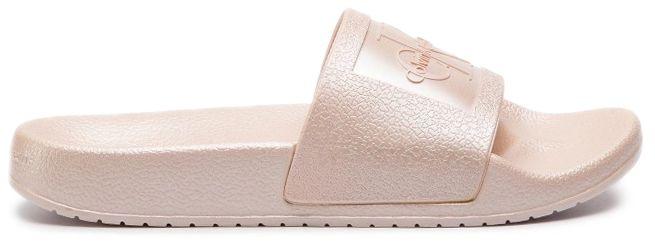 Купить Шлёпанцы женские Calvin Klein Jeans 3Y84, Розовый