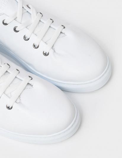 Кеди  для жінок Кеды 410161-1 белая кожа 410161-1 ціна взуття, 2017