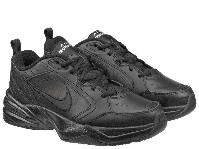 fb776f81 Кроссовки мужские NIKE AIR MONARCH IV Black 415445-001 брендовая обувь, 2017