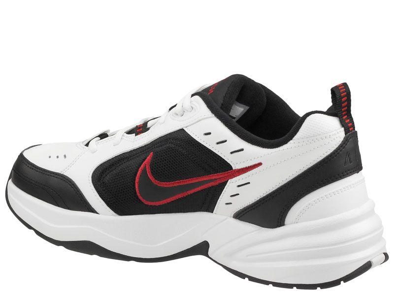 Кроссовки для мужчин NIKE AIR MONARCH IV White/Black 415445-101 цена, 2017