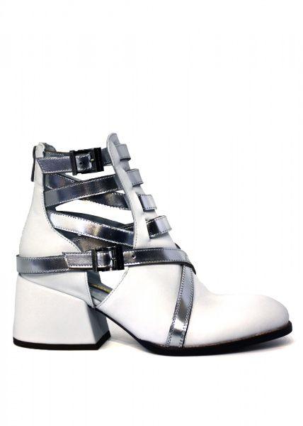 Купить Ботинки женские 424271 Белые кожаные ботинки Modus Vivendi 424271