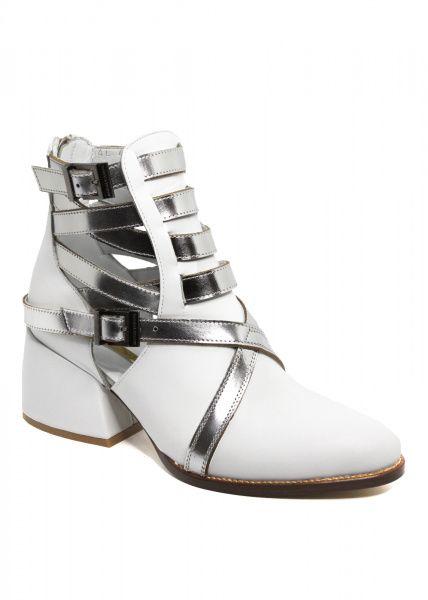 Ботинки для женщин 424271 Белые кожаные ботинки Modus Vivendi 424271 , 2017