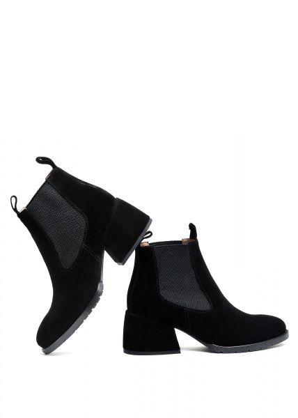 для женщин 425421 Черные замшевые ботинки Modus Vivendi 425421 цена, 2017