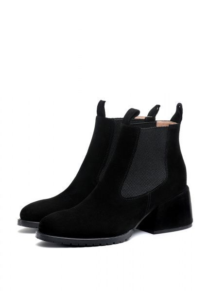 для женщин 425421 Черные замшевые ботинки Modus Vivendi 425421 бесплатная доставка, 2017