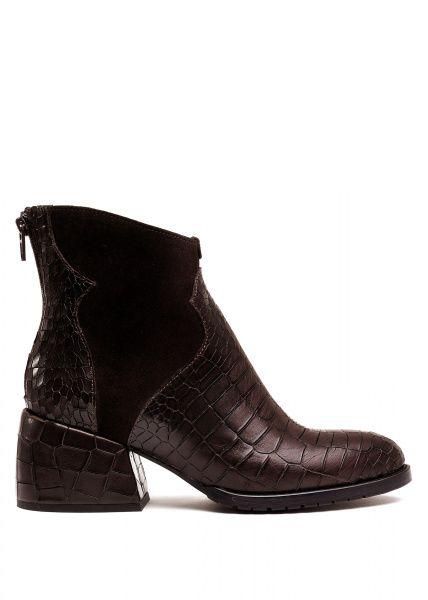 для женщин 425731 Кожаные ботинки шоколадного цвета Modus Vivendi 425731 Заказать, 2017