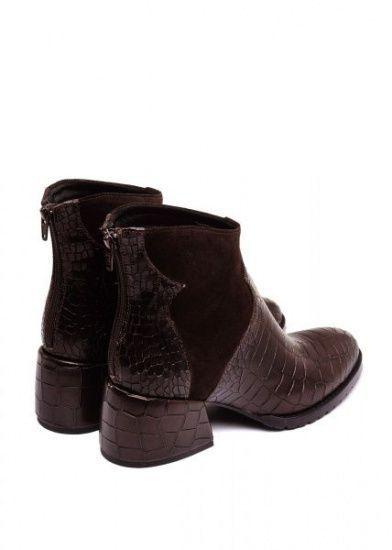 для женщин 425731 Кожаные ботинки шоколадного цвета Modus Vivendi 425731 фото, купить, 2017