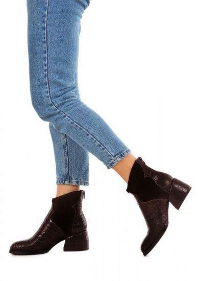 для женщин 425731 Кожаные ботинки шоколадного цвета Modus Vivendi 425731 продажа, 2017