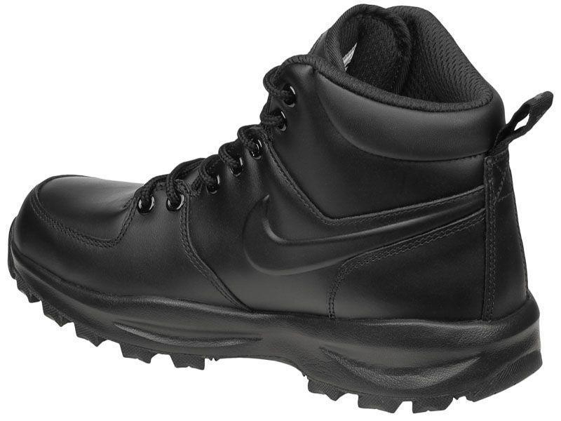 Ботинки для мужчин NIKE MANOA LEATHER Black 454350-003 купить, 2017