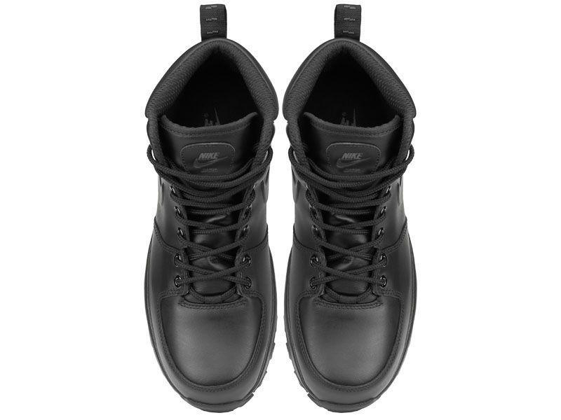 Ботинки для мужчин NIKE MANOA LEATHER Black 454350-003 бесплатная доставка, 2017