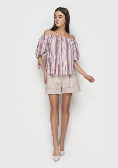 Блуза з коротким рукавом Samange - фото